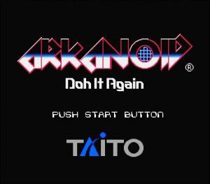 Arkanoid - Doh It Again - 01 Title