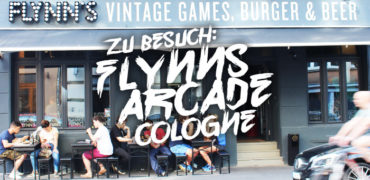 Flynn's Arcade in Köln – Retro-Games, Burger und Bier