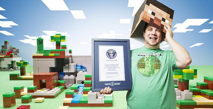 Interview Wie Man Den Guinness Weltrekord Im Minecraft Spielen Holt - Minecraft clone spielen