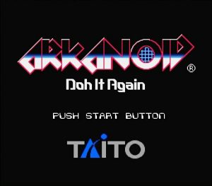 Arkanoid - Doh It Again - 01 Title